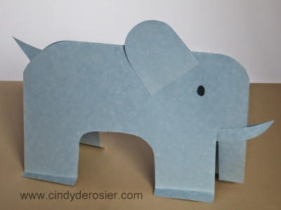 Paper Elephant Fun Family Crafts