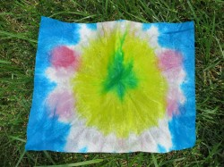 Dyed Paper Towels