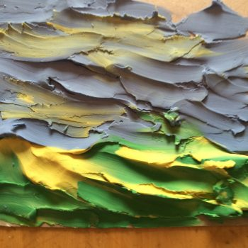 Finger Paint With Clay