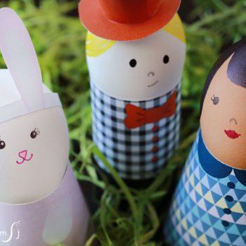Printable Egg Holders