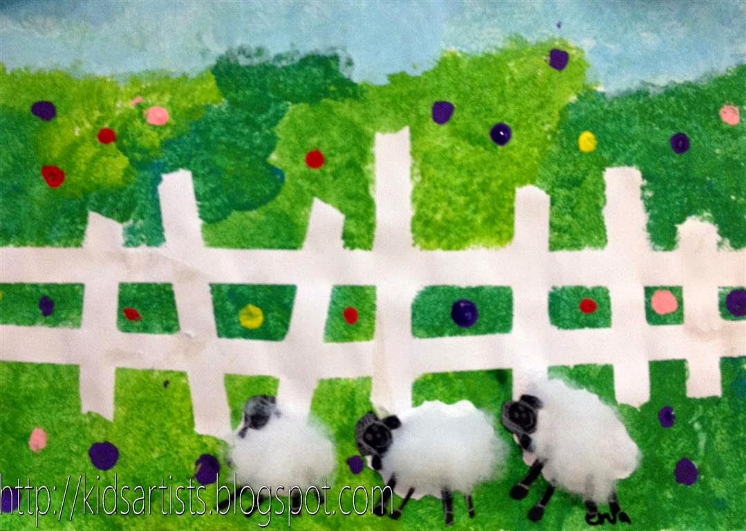 Sheep In The Meadow Fun Family Crafts