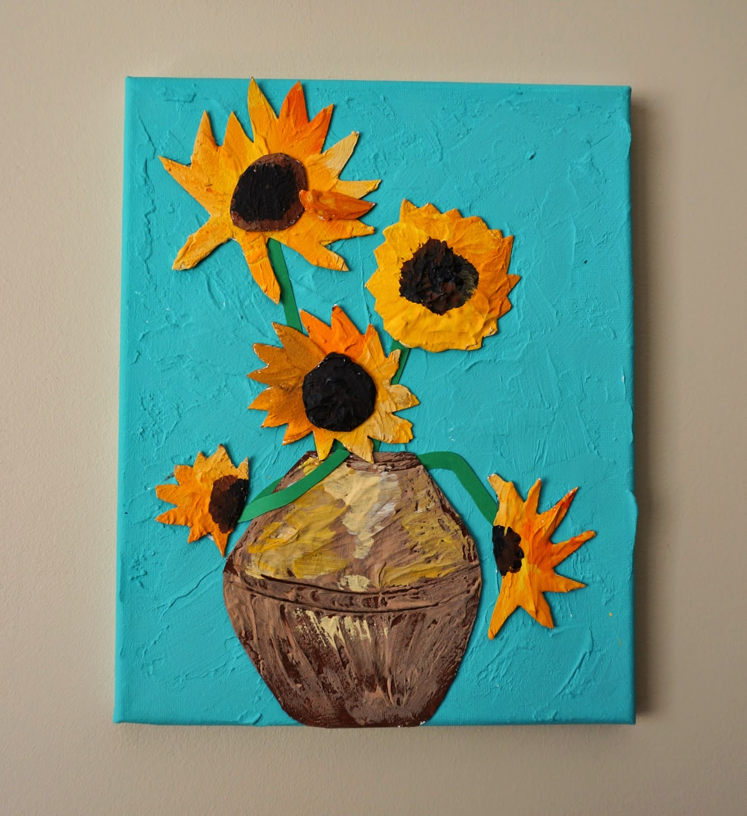 Van Gogh Sunflower Fun Family Crafts