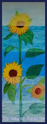 sunflowers-in-different-materials-art-lesson-Medium