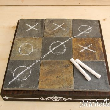 Coffee Table Tic-Tac-Toe Board
