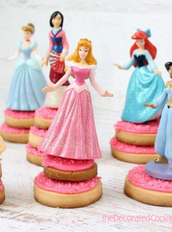 Princess Pedestal Cookies