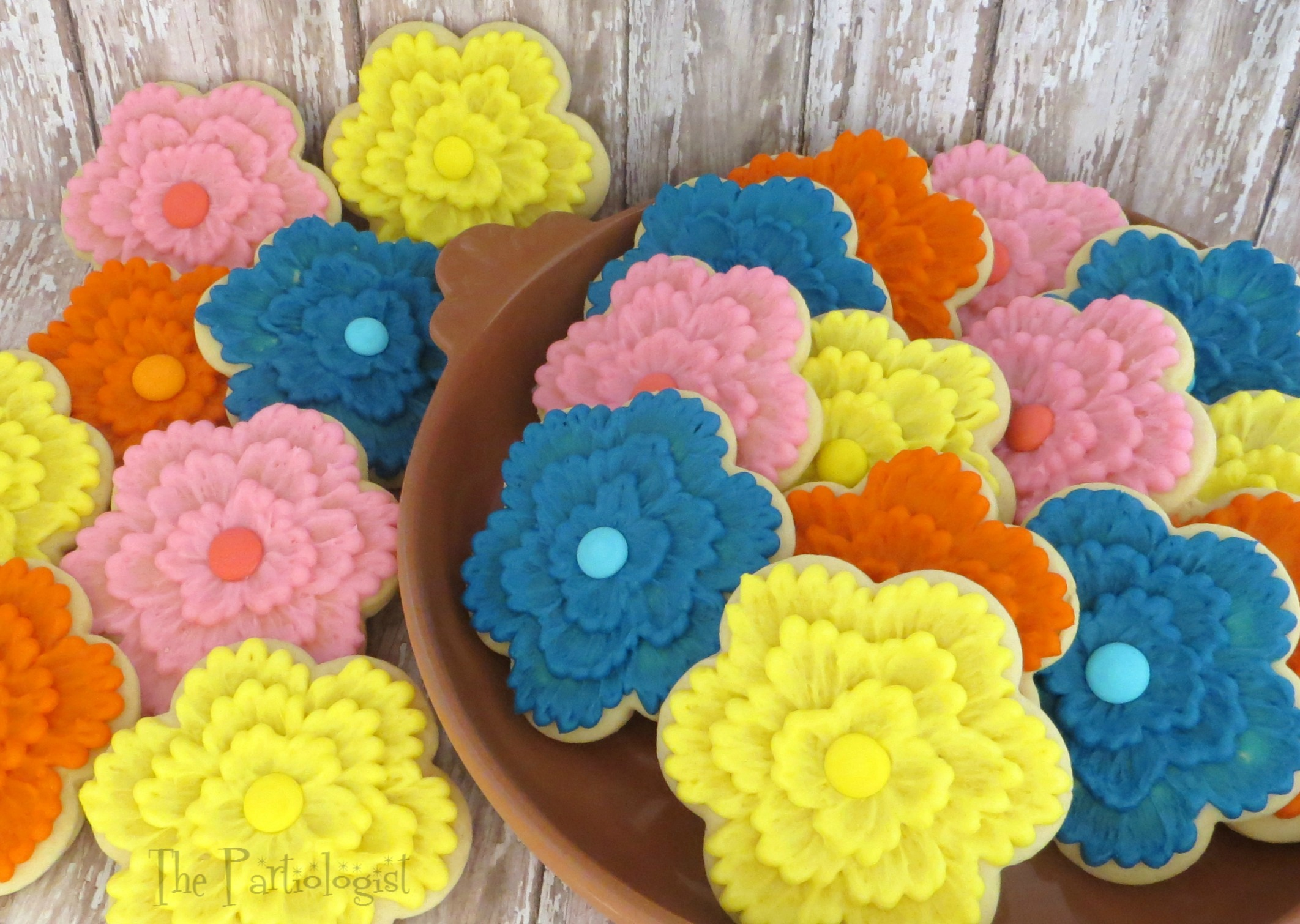 Flower Cookies | Fun Family Crafts