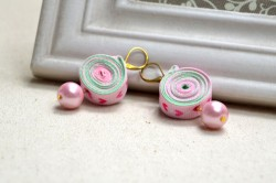Ribbon Earrings