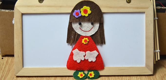 Felt Girl Decoration