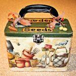 Garden Seed Storage Box
