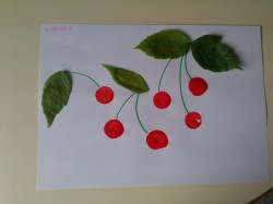 Cherries Collage