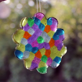 Pony Bead Suncatcher