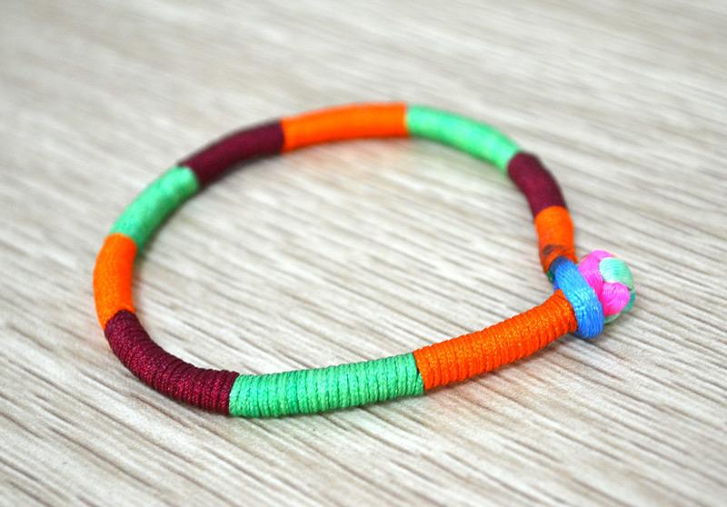 Wrap Friendship Bracelet Fun Family Crafts