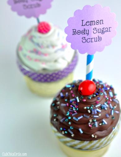 Mini Mason Jar Caulk Cupcakes