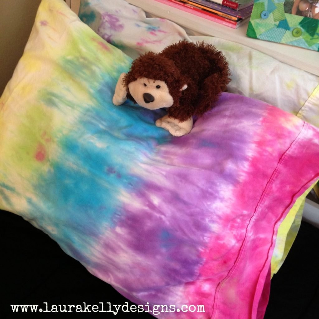 Tie-Dyed Pillowcases