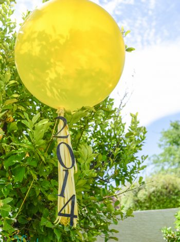 Giant Balloon Graduation Tassel