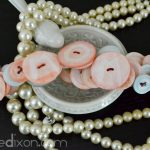 Monogrammed Button Bracelet