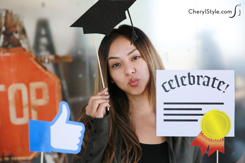 Printable Graduation Photo Booth Props Fun Family Crafts