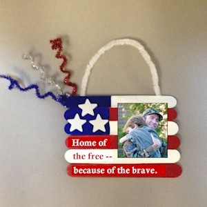 Patriotic Photo Frame