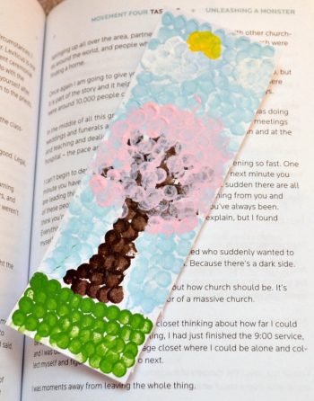 Pointillism Bookmark