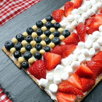 Graham Cracker Flag Dessert
