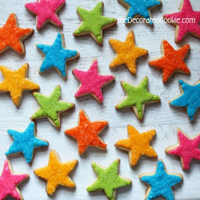 Star cookies fun family crafts
