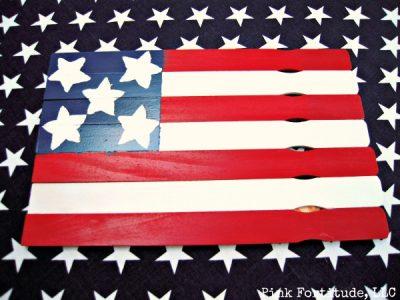 Paint Stick Flag