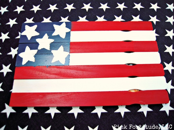 Paint Stick Flag