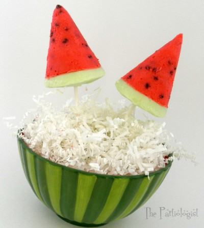 Watermelon Yogurt Pops