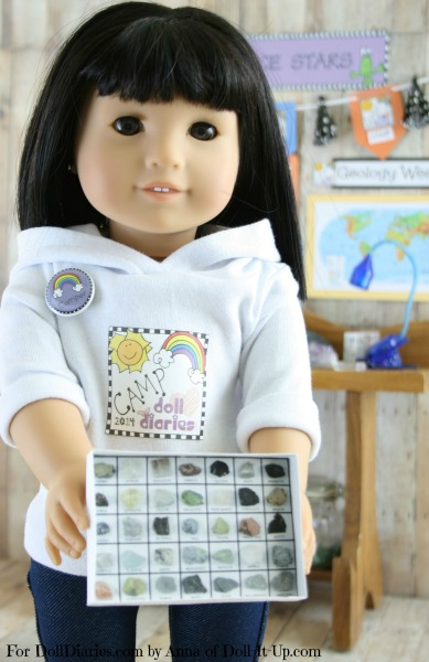 Doll-Sized Rock Collection