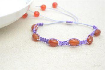 Shamballa Macramé Bead Bracelet