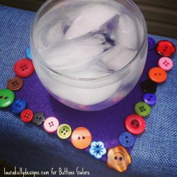 Button Coasters