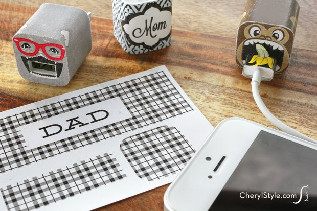 Printable iPhone Charger Labels