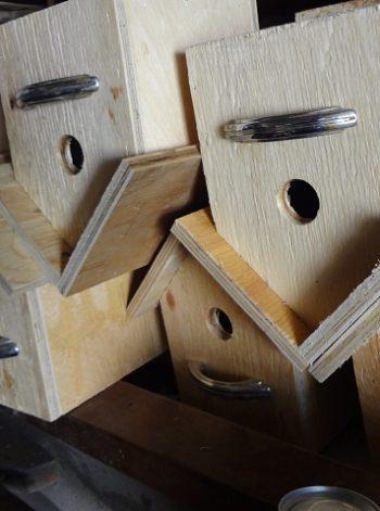 Wooden Bird Houses