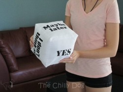 Answer Cube Pillow
