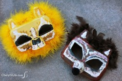 Egg Carton Masks