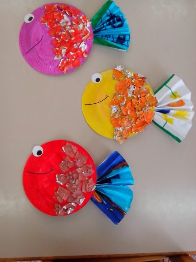Paper Plate Tropical Fish & Paper Plate Tropical Fish | Fun Family Crafts