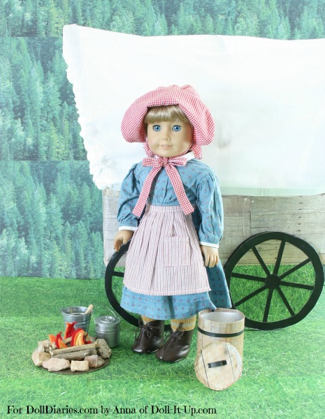 Doll-Sized Covered Wagon