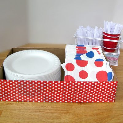 Upcycled Party Tray