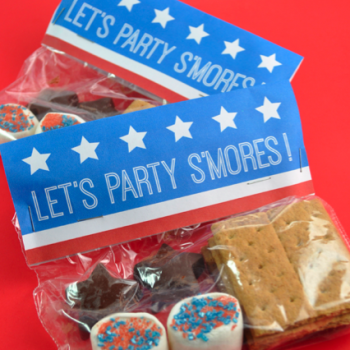 Patriotic S'mores Party Packs