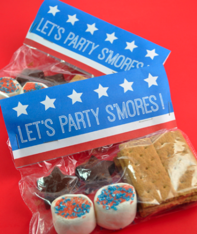 Patriotic S Mores Party Packs Fun Family Crafts
