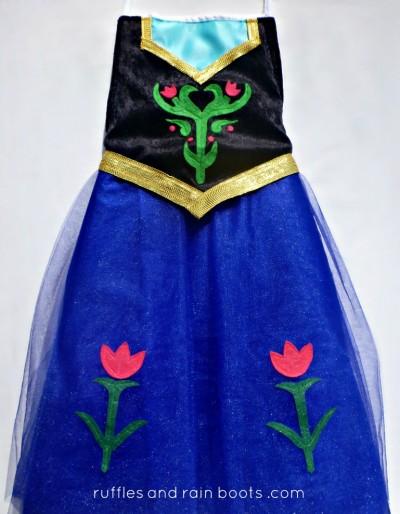 Princess Anna Dress-Up Apron