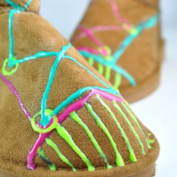 Puffy Paint Boot Embellishment
