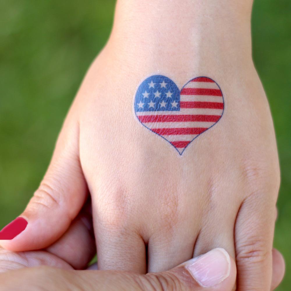 Patriotic Temporary Tattoos