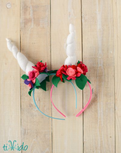 Felt Unicorn Horn Headband