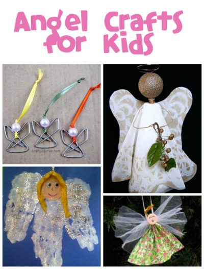 Angel Crafts for Kids