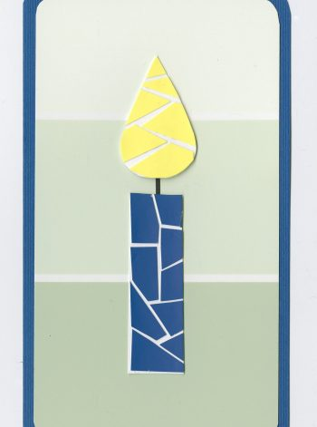 Paint Chip Birthday Card