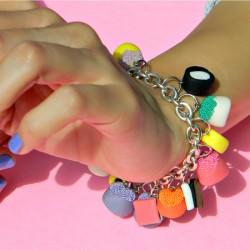 Faux Candy Bracelet