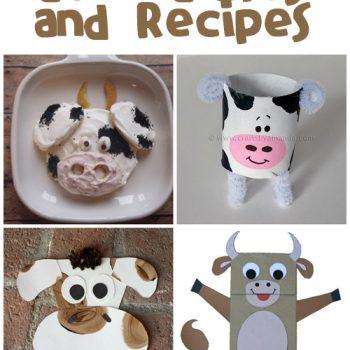 Cow Crafts & Recipes