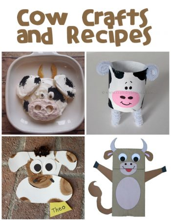 Cow Crafts & Recipes