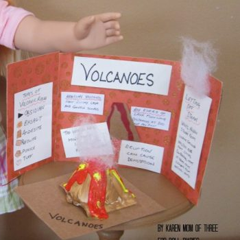 Doll-Sized Volcano Presentation